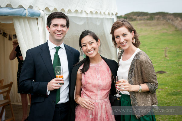 31-woolacombe-barricane-beach-wedding-north-devon-guests-smiles