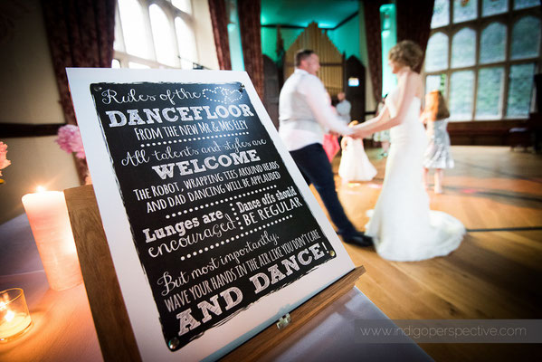 70-woolhanger-manor-wedding-photography-north-devon-dancefloor-rules