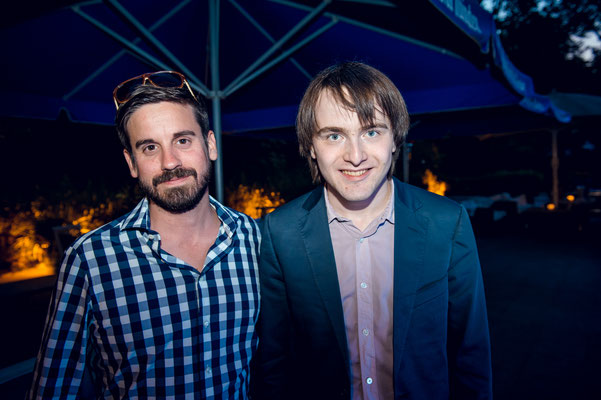 Andreas Brandis und Daniil Trifonov Credit: Stefan Hoederath 2014