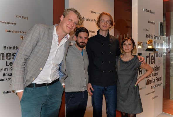 Christian Badzura, Andreas Brandis, Richard Reed Perry, Natalie Rapp