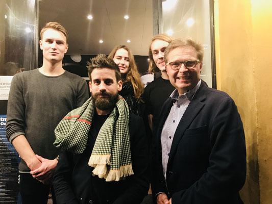 Andreas Brandis, Rune Bech & Team Montmartre Copenhagen 2017