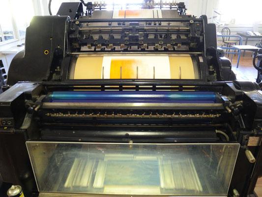 Original Heidelberger Zylinderpresse