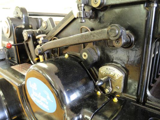 Zylinderpresse Details