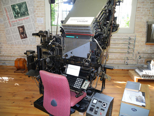 Linotype Setzmaschine