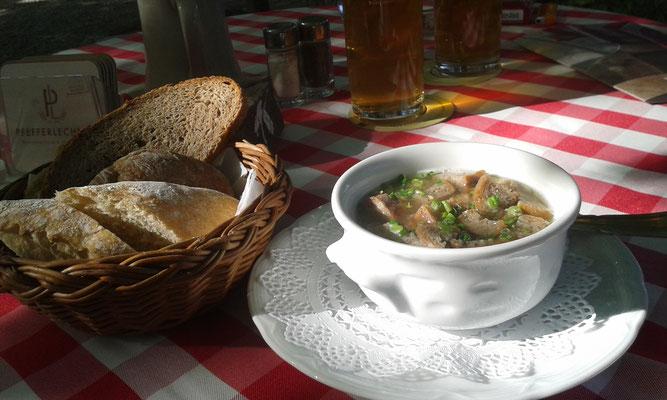 Vinschgauer Brotsuppe