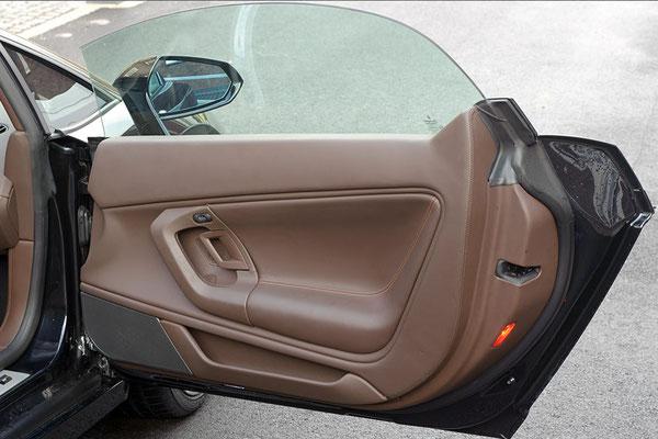 Türverkleidung im Lamborghini Gallardo