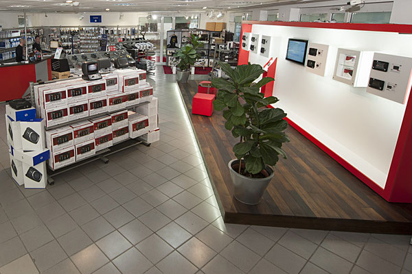 Zenec Store Bielefeld Innenansicht