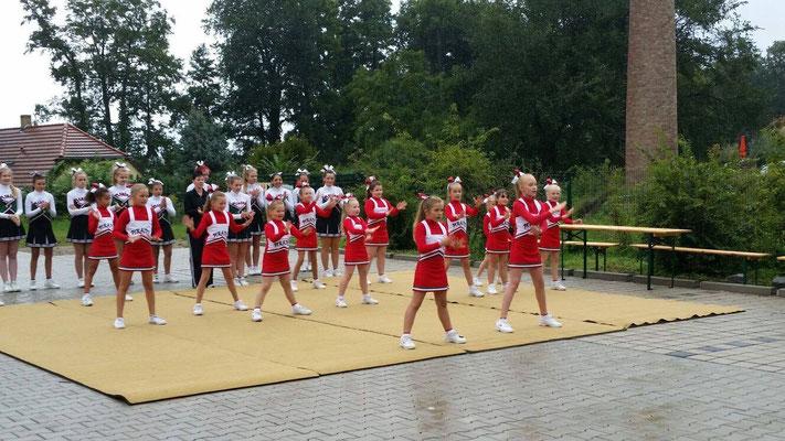 Cheerleader Auftritt