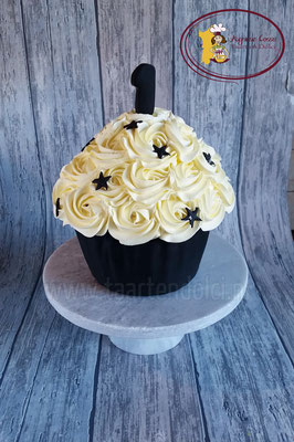 Zwart-wit smashcake