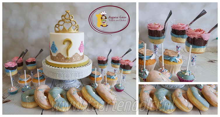 Gender Reveal Sweettable