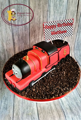 James van Thomas de trein 3D