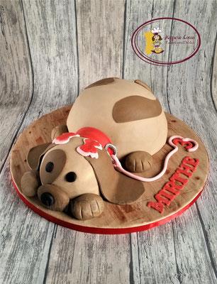 Hond taart 3D
