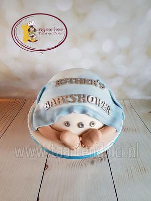 Babybillen taart