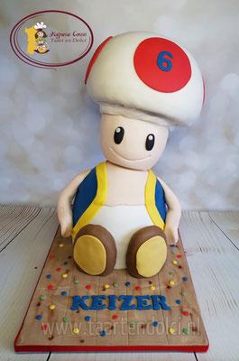 3D Toad taart