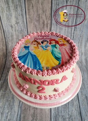 Botercreme Prinsessentaart