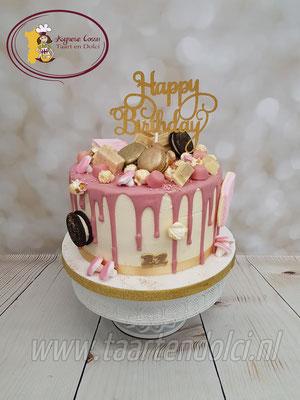 Happy Birthday dripcake
