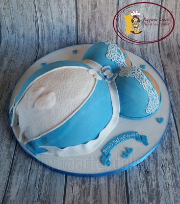 Zwangere buiken taart