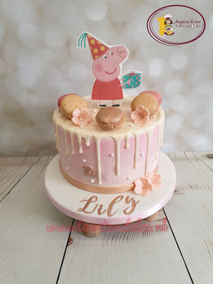 Dripcake Peppa Pig 2D