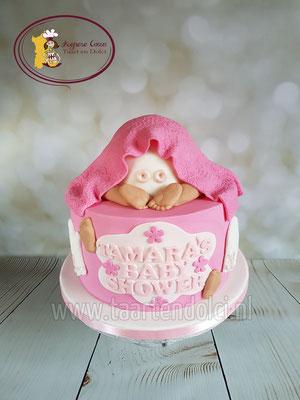 Babybillen taart babyshower
