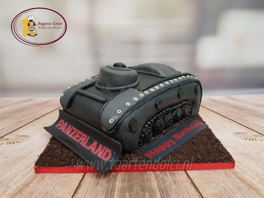 Tank taart
