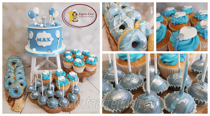 Babyshower Sweettable