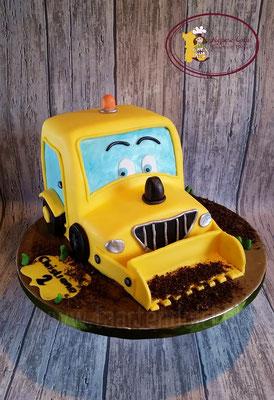 Traktor taart