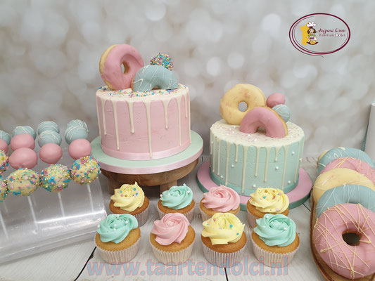 Babyshower Sweettable zonder fondant