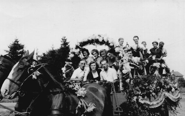 1950 Erntefest-Kutscher kurt Ihlenfeld