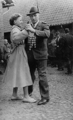 1954 Schützenkönig Heinrich Riefers
