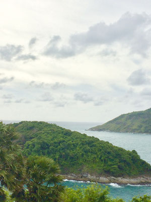 Blick vom Kap Laem Ptomthep