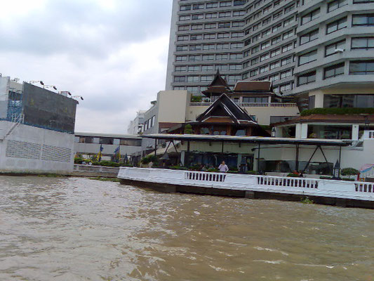 Chao Phraya Fluss, Bangkok