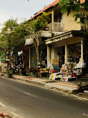 Straße Jalan Monkey Forest