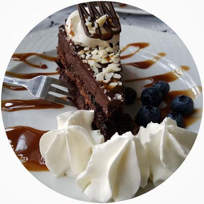 Torte im Kurort Café Kolberg