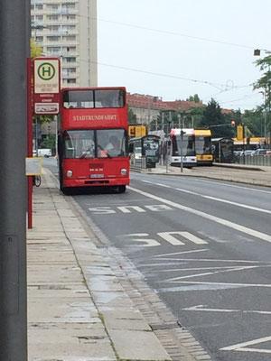 Stadtrundfahrt-Bus