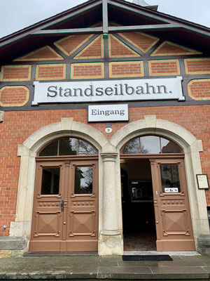 Eingang Standseilbahn