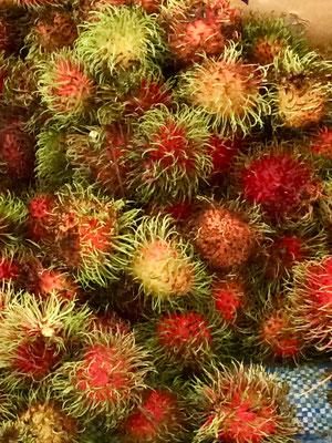 tropische Früchte, Rambutan