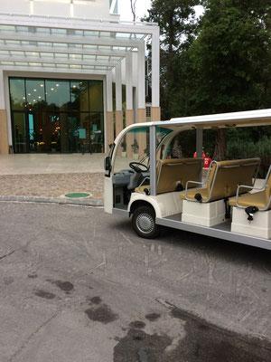Hoteleigenes E-Mobil
