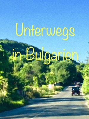 Fahrt durch Bulgarien