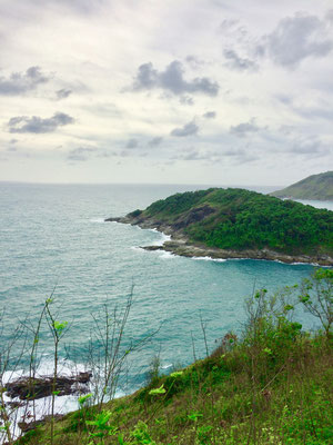 Blick vom Kap Laem Promthep