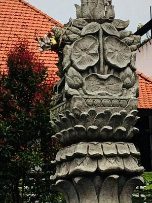Lebendige Kunst auf Bali