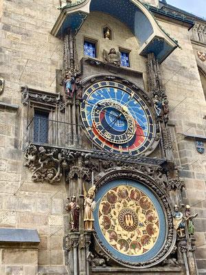 Altstädter Rathaus, astronomische Uhr, historischer Prager Stadtkern
