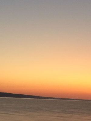 Sonnenaufgang in Albena
