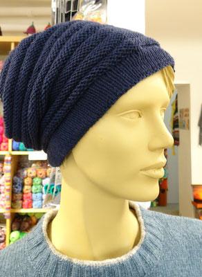 16. Leichte Mütze aus reiner Merinowolle - Qual. Cool Wool, Lana Grossa