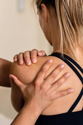 Osteopathie der Schulter, Faszienbehandlung
