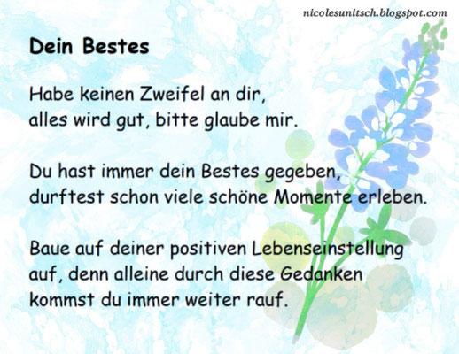 Gedichte Zitate Sprüche Von Nicole Sunitsch