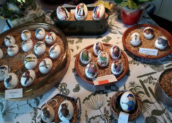 Ostereier (Frühlingsmarkt)