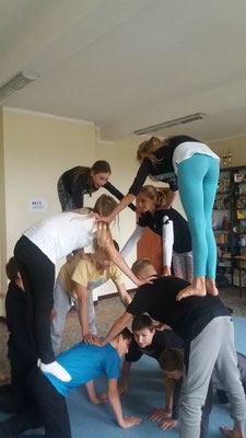Akrobatyka partnerska - fot. Magdalena Staniszewska