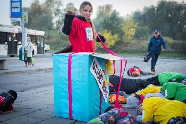 Akcja Przystanek - Pętla Słoneczne - fot. Dominik Smaruj