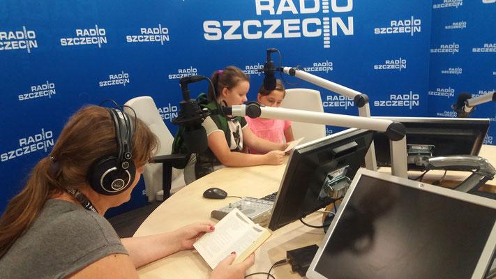 Próbne nagrania w Radiu Szczecin - fot. Jolanta Kortiak-Gulbinowicz