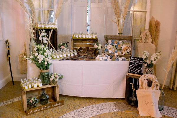 Crédit Photo :  - Mariage décoré par Audrey Mauro Wedding Designer
